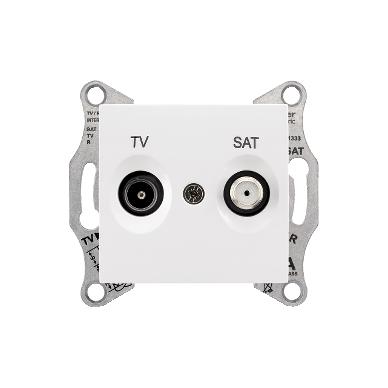 Antenos lizdas SEDNA TV/SAT be rėmelio, galinis 2