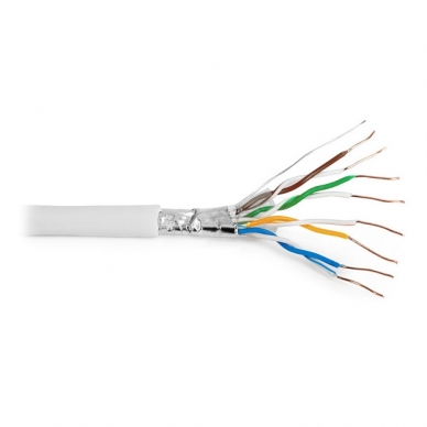 Ekranuotas FTP tinklo kabelis vidaus sąlygoms