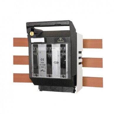 Kirtiklis horizontalus, montuojamas ant šynos LTL