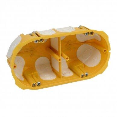 Dėžutė į gipsą su membranomis 4