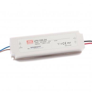 Maitinimo šaltinis LED LPV 230V/24DC IP67 5