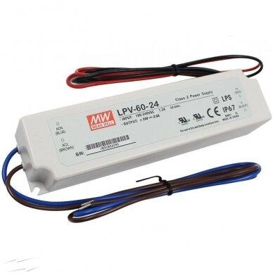 Maitinimo šaltinis LED LPV 230V/24DC IP67 2