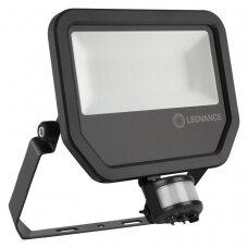 Prožektorius LED su judesio davikliu LEDVANCE 4000K juodas IP65