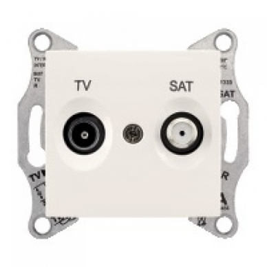Antenos lizdas SEDNA TV/SAT be rėmelio, galinis 3