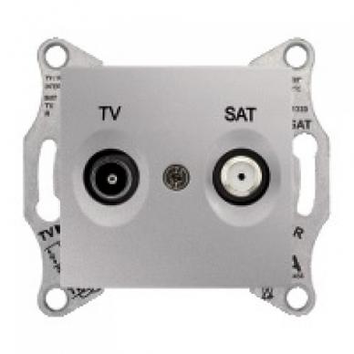Antenos lizdas SEDNA TV/SAT be rėmelio, galinis 4